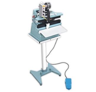 恒温电磁式电动30cm封口机加装碳带印字机